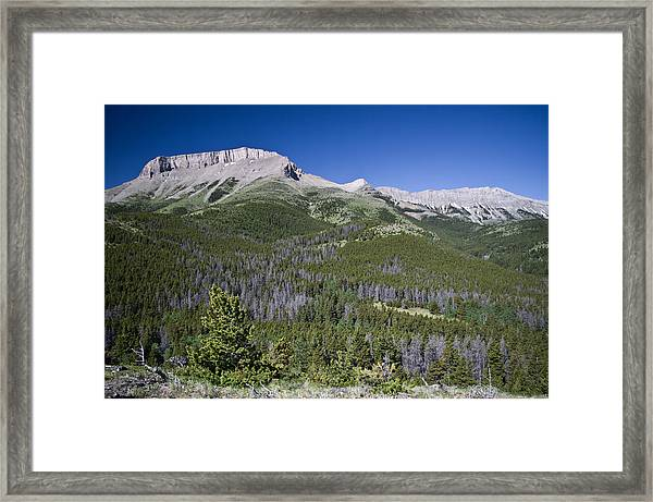 Ear Mountain, Montana Framed Print