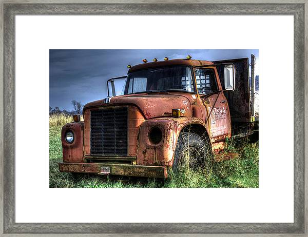Earl Latsha Lumber Company Version 3 Framed Print
