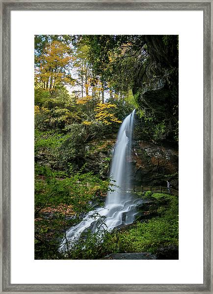 Early Autumn At Dry Falls Framed Print