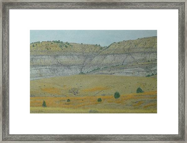 Early May On The Western Edge Framed Print