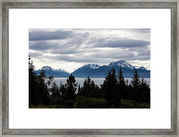 Early Morning Alaska Framed Print