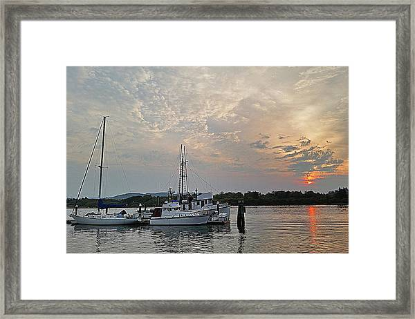 Early Morning Calm Framed Print
