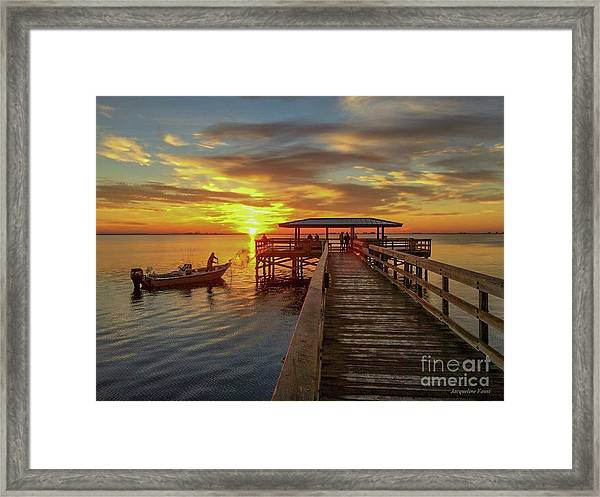 Early Morning Cast Framed Print