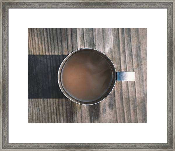 Early Morning Coffee  Framed Print