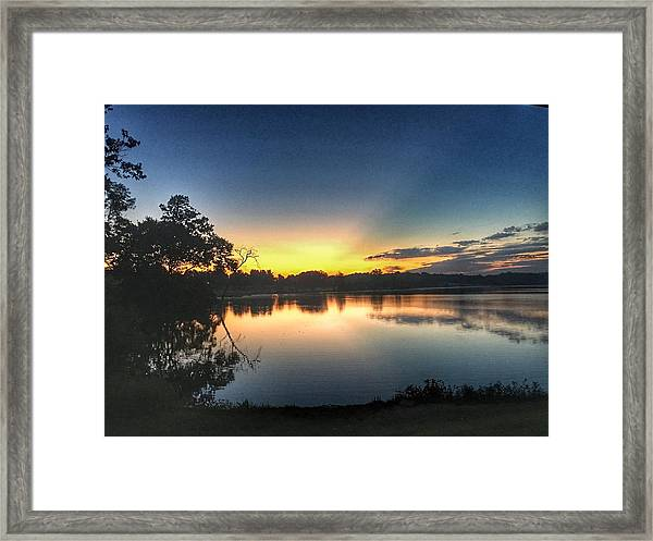 Early Morning Glow Framed Print