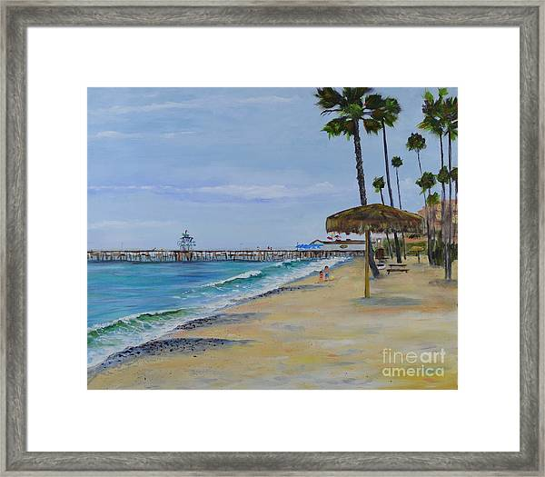 Early Morning On The Beach Framed Print
