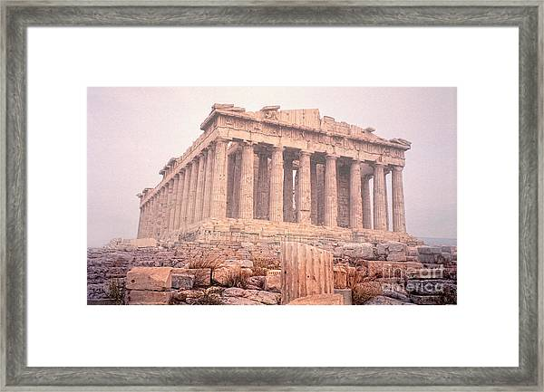 Early Morning Parthenon Framed Print