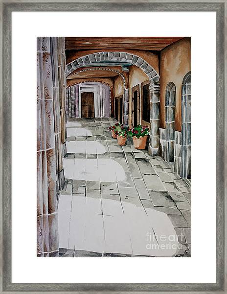 Early Morning San Miguel Framed Print