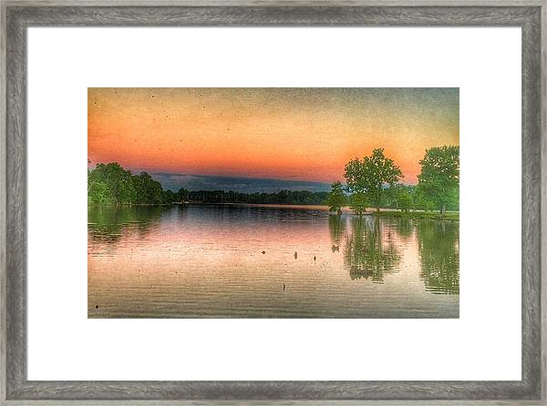 Early Morning Sky Framed Print