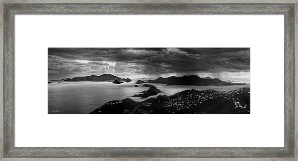 Early Morning Squalls Framed Print