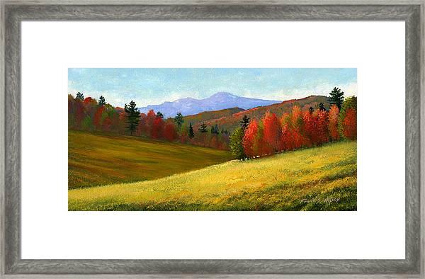 Early October Framed Print
