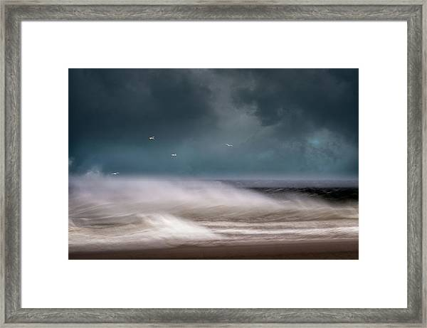 Early Spring At Nauset Beach Framed Print