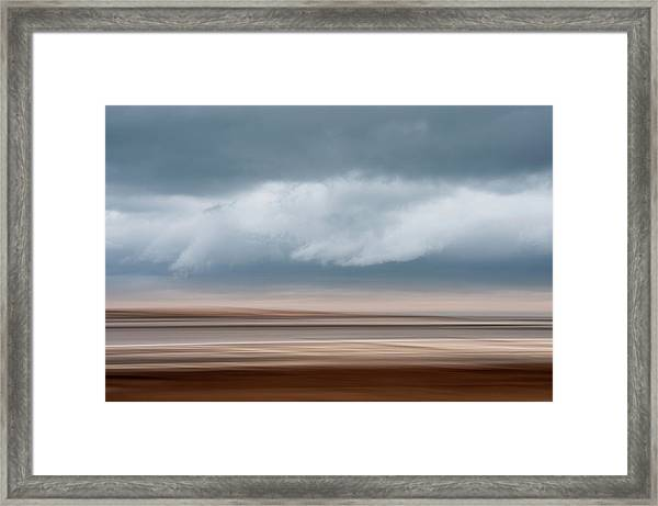Early Winter At Sandy Neck Framed Print