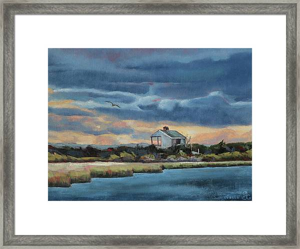 Early Winter Nocturne Framed Print