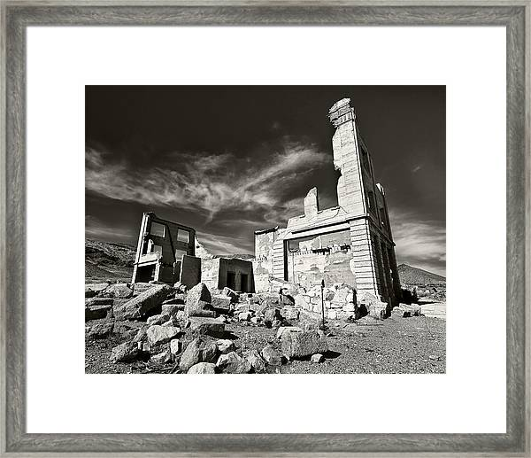 Early Withdrawal Framed Print