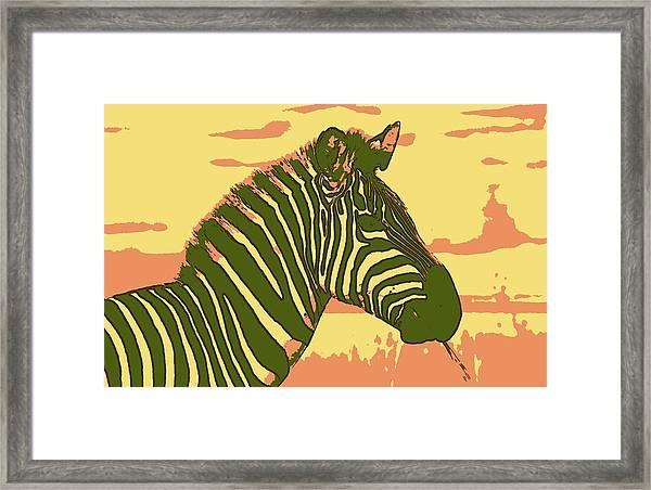 Earned Stripes Framed Print