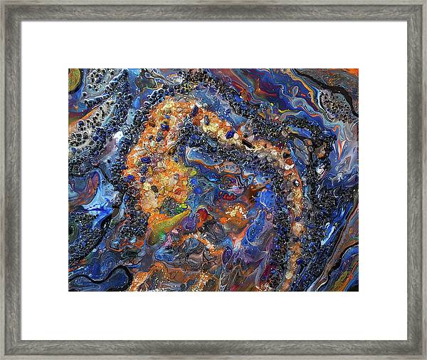 Earth Gems #18w01 Framed Print