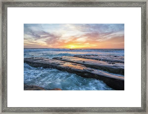 Earth, Sea, Sky Framed Print