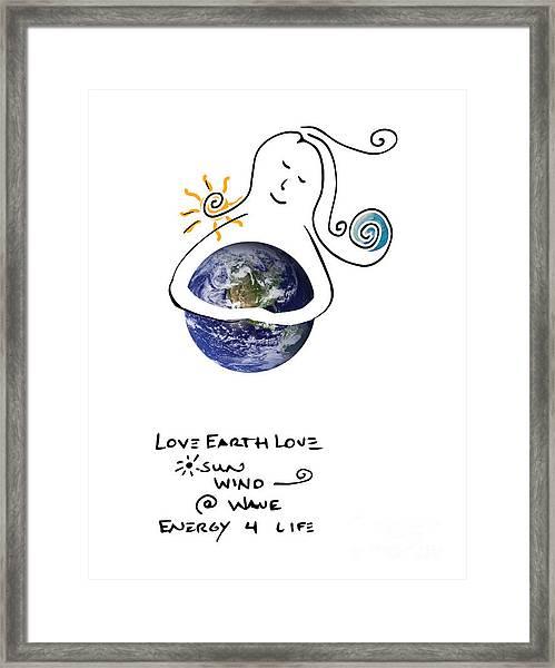 Earthhugger Framed Print