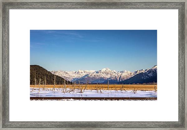 Earthquake Remains Framed Print