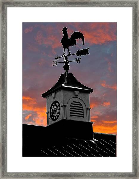 East By South Framed Print