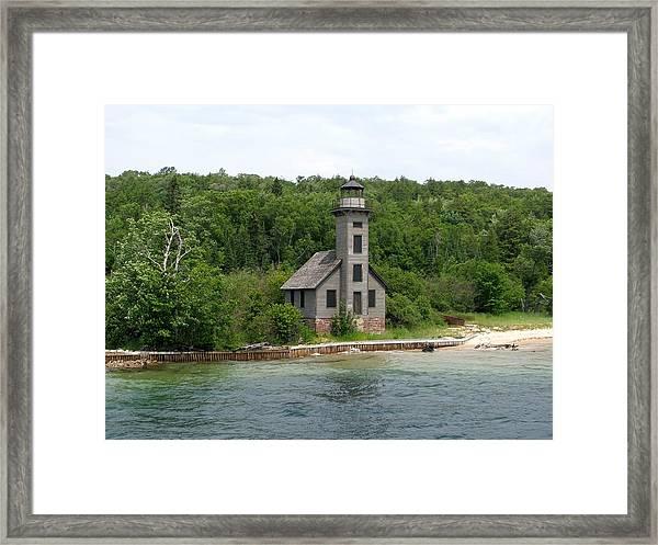 East Channel Lighthouse Framed Print