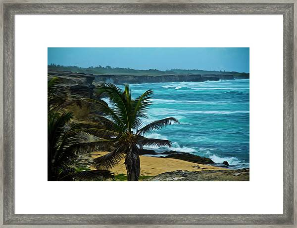 East Coast Bay Framed Print