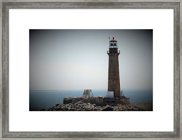 East Coast Lighthouse Framed Print