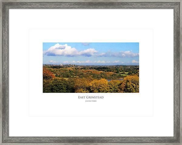 East Grinstead Framed Print