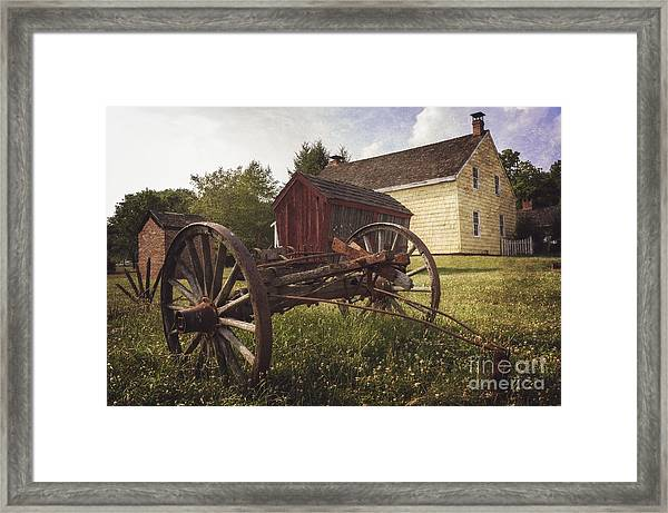 East Jersey Olde Town Framed Print