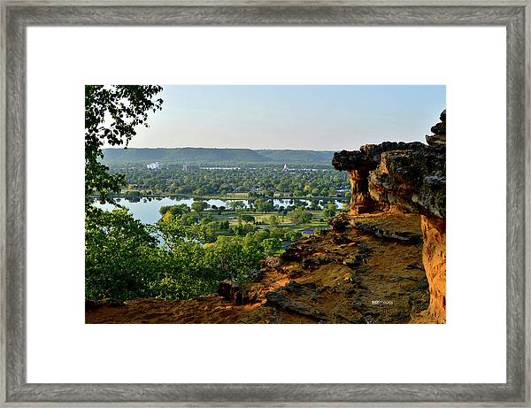 East Lake Winona Framed Print