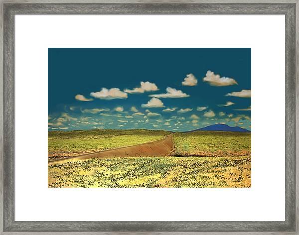 East Of Flagstaff Arizona Framed Print