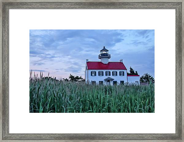East Point At Twilight Framed Print