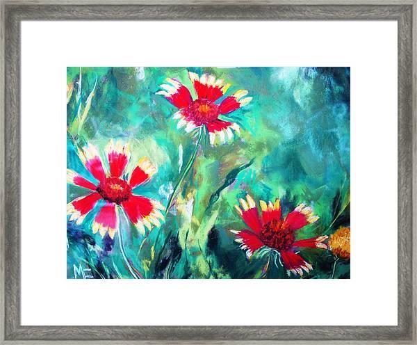 East Texas Wild Flowers Framed Print