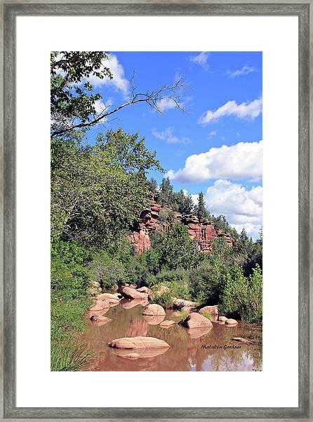 East Verde Summer Crossing Framed Print