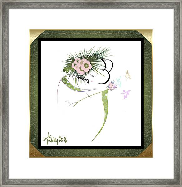 East Wind - Small Gathering 2 Framed Print