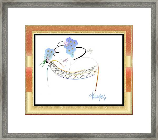 East Wind - The Rival 2 Framed Print