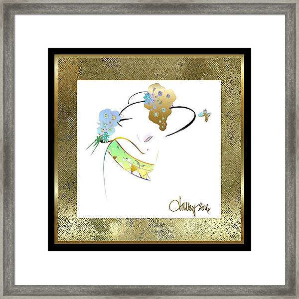 Framed Print featuring the painting   East Wind - The Rival by Larry Talley