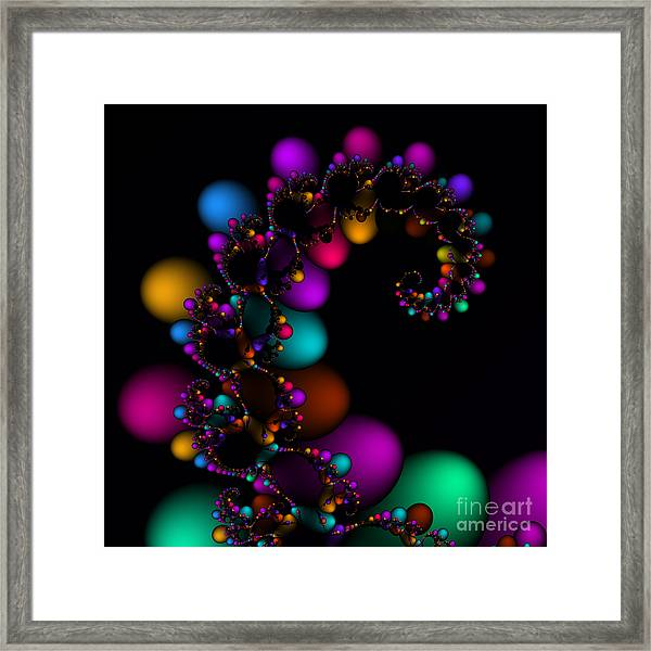 Easter Dna Galaxy 111 Framed Print