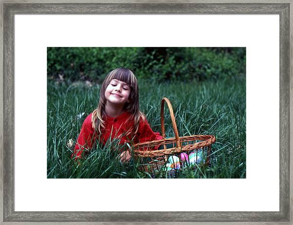 Easter Egg Hunt Framed Print