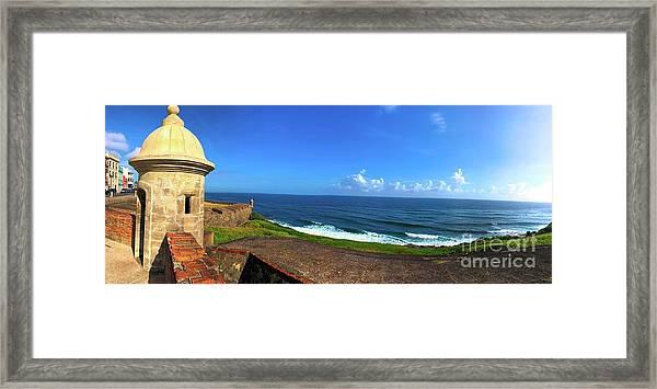 Eastern Caribbean Framed Print