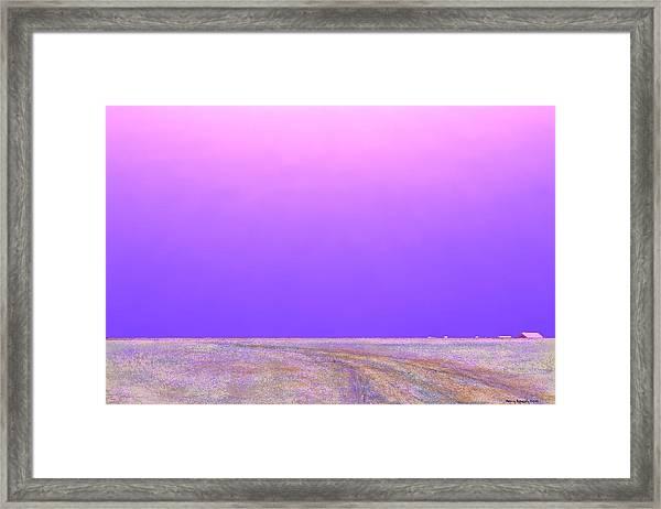 Eastern Horizon Framed Print