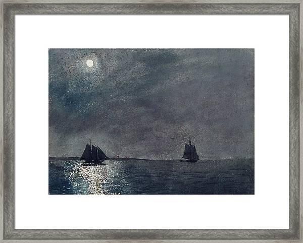 Eastern Point Light Framed Print