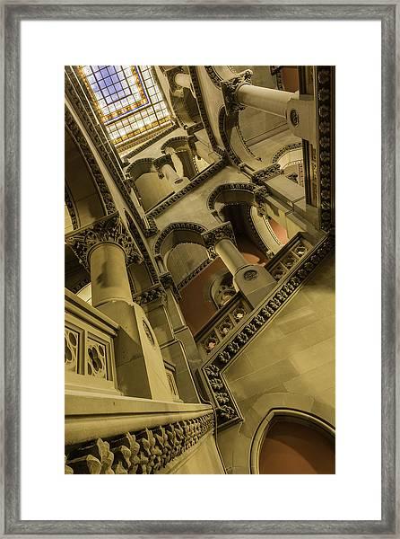 Eastern Staircase Framed Print
