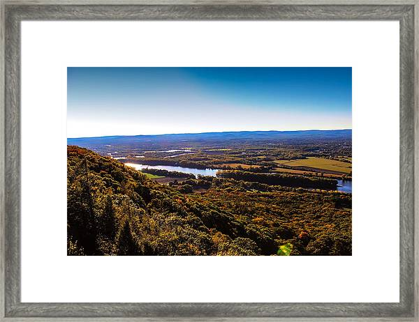 Easthampton View From Summit House Framed Print