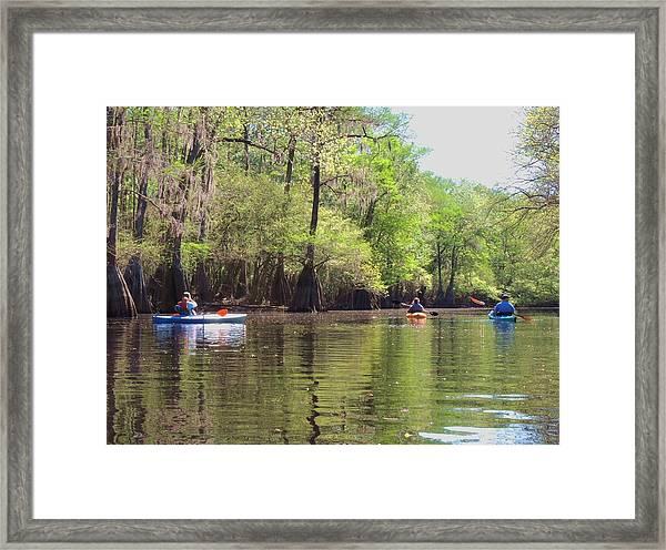 Ebenezer Creek Framed Print