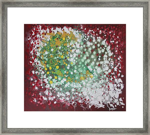Ebola Contained Framed Print