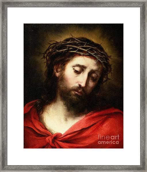 Ecce Homo, Or Suffering Christ Framed Print