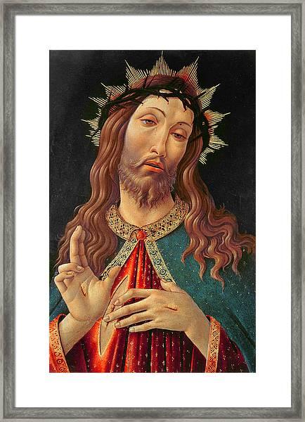 Ecce Homo Or The Redeemer Framed Print