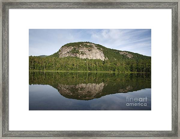 Echo Lake State Park - North Conway  New Hampshire Usa Framed Print